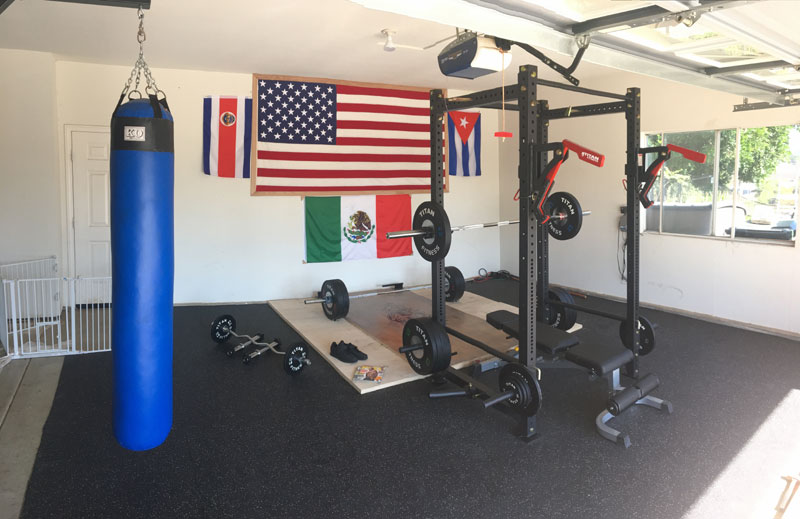 home boxing gym